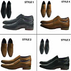 Mens Smart Office Wedding Party Italian Dress Work Casual Formal Shoes low cut