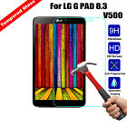 Explosion-proof Tempered Glass Film Screen Protector Cover For LG G PAD Tablet