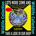 BUTTERFLY  - PART OF OUR WILDLIFE COLLECTION 58 MM BADGE-FRIDGE MAGNET #4