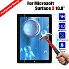 Premium Tempered Glass Screen Protector Film For Microsoft Surface 3 4 Pro3 RT2