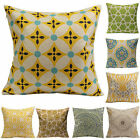 Vintage Geometric Cotton Linen Throw Pillow Case Cushion Cover Modern Home Decor