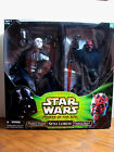 "Star Wars The Power of the Jedi- Sith Lords -12"" Darth Vader and 12"" Darth Maul"