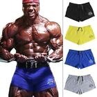 New Men Bodybuilding Short Gym Fitness Workout Clothes Muscular Runnging Jogger