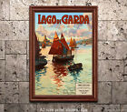 Lago di Garda - Reproduction Vintage Italian Travel Poster