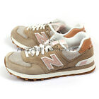 New Balance WL574BCA B Brown & Beige & White & Gum Lifestyle Beach Cruiser NB