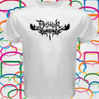 New Dethklok Metal Band Logo Men's White T-Shirt Size S to 3XL