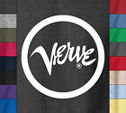 VERVE Records 100% Ringspun Cotton T-Shirt Retro Vintage Jazz Music Label Tee