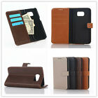 Luxury Flip Card Slot Wallet PU Leather Stand Case Cover For Samsung Galaxy