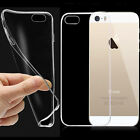 Slim Thin Clear Transparent Gel Silicone Case for Sansung & iPhone Mobile Phones