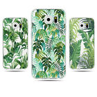 Lot 3Pcs Green Palm Tree Leaves Soft Ultra-thin Case For Samsung Galaxy S7 Edge