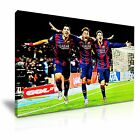 Lionel Messi Neymar Luis Suárez Canavs Modern Football Sports Iconic Wall Art