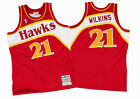 MITCHELL & NESS DOMINIQUE WILKINS THROWBACK BASKETBALL JERSEY