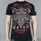 Affliction Panoramic A6650 Men's t-shirt Tee Black NWT