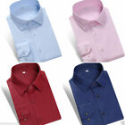 Summer luxury new Mens Long sleeve shirt color leisure 5 Colors T6328