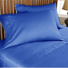 1000 THREAD COUNT 100% EGYPTIAN COTTON BED SHEET SET SOLID CHOOSE COLORS