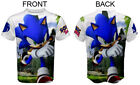 Sonic Hedgehog Unisex Men TShirt T-Shirt Tee Top Full Print