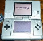Nintendo DS Original Handheld System - SILVER with  1 GBA Game Harry Potter