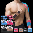 5M*5cm Sports Muscle Tape Elastic Kinesiology Physio Rolls Strain Injury Support