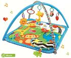 Baby Musical Lullaby Lay&Play Toddler Activity Gym Mats Baby Gym Blanket Toys UK