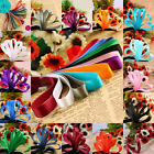 5 Yard Bending Colorful Decoration Satin Grosgrain Ribbon Fit Gift Party Wedding