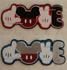 DISNEY MICKEY LOVE Die Cut Title - You Choose Scrapbook Page Paper Piece SSFFDeb
