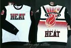 "Miami Heat Mitchell & Ness ""Stop on a Dime"" Vintage Crew Sweatshirt (MSRP $100) on eBay"