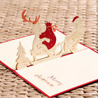 3D Pop Up Greeting Card Birthday Valentines' Day Christmas Anniversary Card