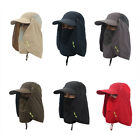 Unisex Outdoor Sport Fishing Camping Sun Hat UV Protection Face Neck Flap Cap