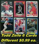 TODD ZEILE _ 6 Different $0.99 Cards _ Choose 1 or More * St. Louis Cardinals