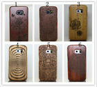New Natural Genuine Wooden Bamboo Case Cover Protector For Samsung Galaxy S7