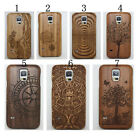 New Real Wooden Bamboo Case Cover Protector For Samsung Galaxy S5 i9600