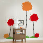 Dr seuss Truffula trees wall decal - kids room decal - colorful