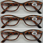 L175 Retro Tortoiseshell Womens Reading Glasses/12 Pcs Diamantes & Super Fashion