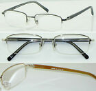 HM05 3Pairs Superb Quality Semi Rimless Reading glasses/Spring Hinge Super Value
