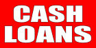 Cash Loans Style 3 DECAL STICKER Retail Store Sign