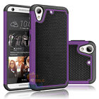 For HTC Desire 626 626S Heavy Duty Hybrid Rugged Rubber Hard Impact Case Cover