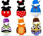 unisex baby summer costume 9-32 months cute cartoon fancy dress romper suit+hat