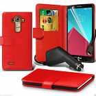 Huawei Honor 5X PU Leather Book Wallet Phone Case Cover + In Car Charger