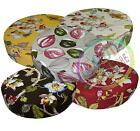 ai 5+Colors Plant Pattern High Quality Cotton 3D Round Shape Seat Cushion Cover
