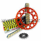 KTM SXF450 2003-2016 Regina ORN-6 O'Ring Chain And Orange Renthal Sprocket Kit