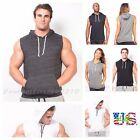 tank man - Men's Bodybuilding Tank Top Sleeveless T-Shirts Hoodie Muscle Gym Pullover S-2XL