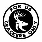 Cracker decal F.U.C.O. For Us Crackers Only sticker redneck florida cracker