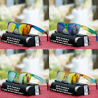 Retro Multi Color Frame Mirror Shade Sunglasses Fashion Style UV 400 New Mens