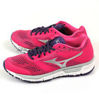 Mizuno Synchro MX (W) Pink/Silver/Purple Smooth Ride Running Shoes J1GF161904