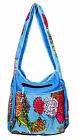 Cotton Casual Ethnic Indian Style Women Shoulder Kantha Stitch Work Bag