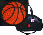 Basketball Contrast Duffel Bag Duffle Gym Tote Sports Team Ball Monogram Custom