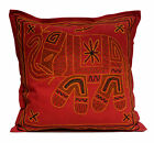 An Embroidered Ethnic Indian Elephant USA Pillow Cases Cushion Cover