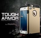 Slim Tough Armor Hybrid Shock Absorb Bumper Hard Case Cover For Apple iPhone 6