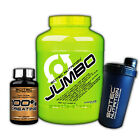 Scitec Nutrition Jumbo Mass Gainer 4400 g 4,4 kg + 100% Creatine + Shaker Carbs