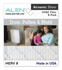 Alen® Airnamic Silver - Dust, Pollen and Mold Filter, MERV 8, 6-Pack  MADE IN US